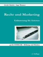 Recht und Marketing