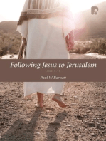 Following Jesus to Jerusalem
