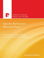 Did the Reformers Misread Paul?