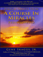 Biblical Quotes from A Course in Miracles Reinterpreted