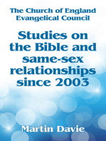 Studies On The Bible And Same-Sex Relationships Since 2003