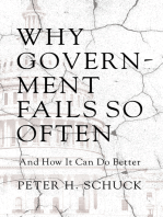 Why Government Fails So Often