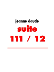 suite 111 / 12: devote fantasien