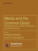Media and the Common Good