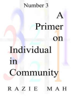 A Primer for Individual In Community