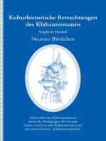 Kulturhistorische Betrachtungen des Klabautermanns - Neuntes Bändchen