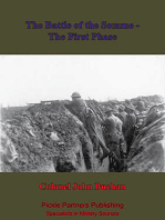 The Battle Of The Somme - The First Phase. [Illustrated Edition]
