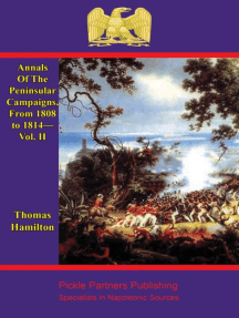 Annals Of The Peninsular Campaigns, From 1808 to 1814—Vol. II