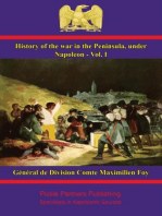 History of the War in the Peninsula, under Napoleon - Vol. I