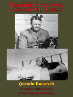 Quentin Roosevelt - A Sketch With Letters