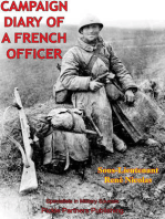 Campaign Diary Of A French Officer