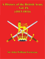 A History Of The British Army – Vol. IX – (1813-1814)