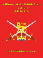 A History Of The British Army – Vol. VII – (1809-1810)