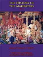 The History Of The Mahrattas - Vol I