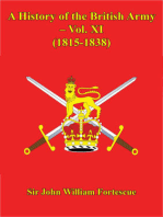 A History Of The British Army – Vol. XI – (1815-1838)