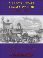 A Lady's Escape From Gwalior [Illustrated Edition]