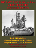 THE BATTLE OF ALAM HALFA - A BATTLE REPORT [Illustrated Edition]