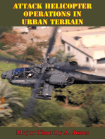 Attack Helicopter Operations In Urban Terrain