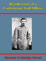 Recollections Of A Confederate Staff Officer [Illustrated Edition]