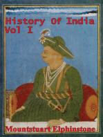 History Of India Vol. I
