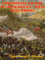 Confederate Cavalry At Chickamauga - What Went Wrong?