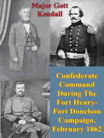 Confederate Command During The Fort Henry-Fort Donelson Campaign, February 1862