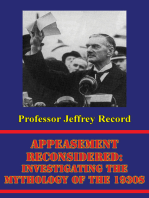 Appeasement Reconsidered