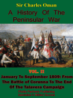 A History of the Peninsular War, Volume II January to September 1809