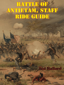 Battle Of Antietam, Staff Ride Guide [Illustrated Edition]