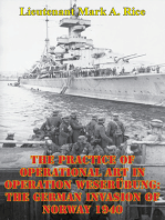 The Practice Of Operational Art In Operation Weserübung