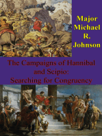 The Campaigns Of Hannibal And Scipio