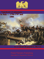 Napoleon's Campaigns in Italy — 1796-1797 and 1800
