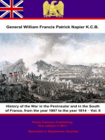 History Of The War In The Peninsular And In The South Of France, From The Year 1807 To The Year 1814 – Vol. II