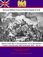 History Of The War In The Peninsular And In The South Of France, From The Year 1807 To The Year 1814 – Vol. IV