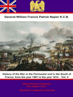 History Of The War In The Peninsular And In The South Of France, From The Year 1807 To The Year 1814 – Vol. V