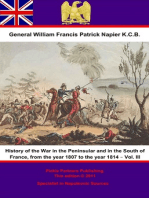 History Of The War In The Peninsular And In The South Of France, From The Year 1807 To The Year 1814 – Vol. III