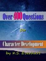 Over 400 Questions for Character Development