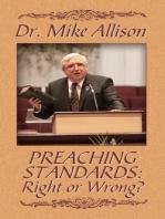 Preaching Standards