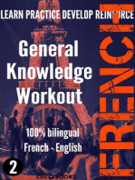 French - General Knowledge Workout #2: A new way to learn French: FRENCH - GENERAL KNOWLEDGE WORKOUT, #2