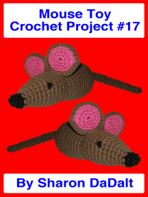 Mouse Toy Crochet Project #17