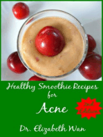 Healthy Smoothie Recipes for Acne 2nd Edition