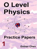 O level Physics Questions And Answer Practice Papers 1