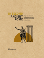 30-Second Ancient Rome: The 50 Most Important Achievments of a Timeless Civilisation, Each Explained in Half a Minute