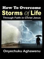 How To Overcome Storms Of Life Through Faith In Christ Jesus
