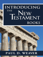 Introducing the New Testament Books