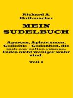 Mein Sudelbuch, Teil 1