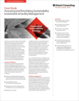 White Paper on Assessing and Prioritizing Sustainability Investment of Hitachi Consulting