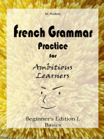 French Grammar Practice for Ambitious Learners - Beginner's Edition I, Basics (French for Ambitious Learners)