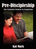Pre-Discipleship
