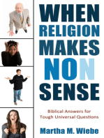 When Religion Makes No(n) Sense